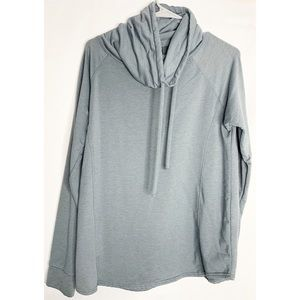 32 degrees heat cowl neck gray sweatshirt L